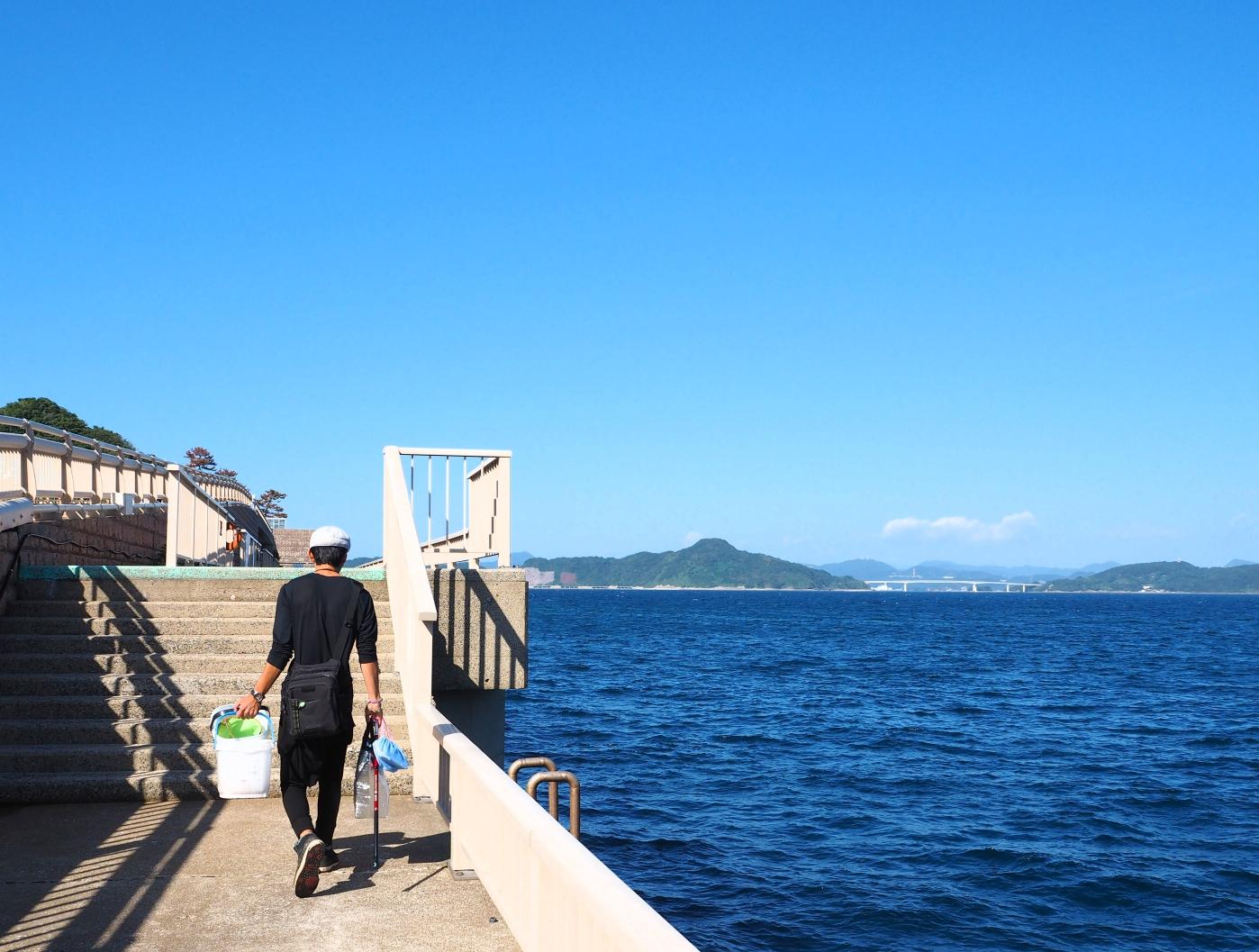 【釣り初心者向け】簡単・誰でも釣れる!飛島磯釣り公園でお手軽小アジ釣り♪