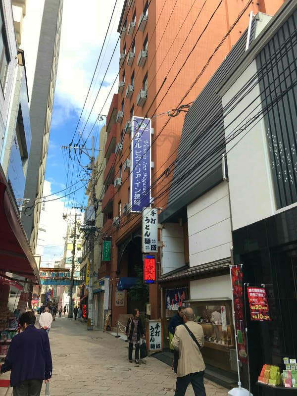 長崎新地中華街からすぐ!アクセスに便利な「ビストリア・イン長崎」まとめ