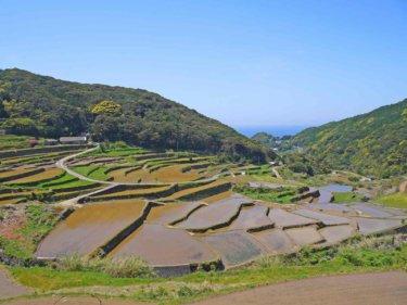 平戸島の重要文化的景観!平戸の聖地と集落①【春日集落と安満岳】