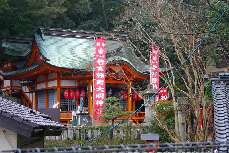 竹ン芸で有名!坂本龍馬も参拝していた若宮稲荷神社の歴史や見所を紹介!