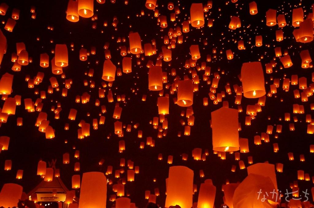 コムローイ祭りファンなら絶対に長崎ランタンフェスティバルも楽しめると思うのです。