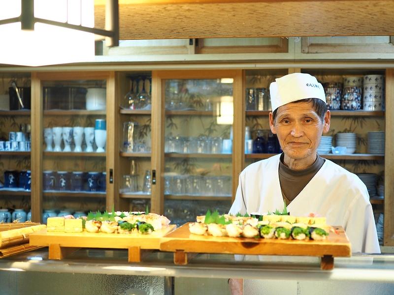 壱岐島で最も老舗のお寿司屋さん「乃もと寿司 」で壱岐の魚を嗜む