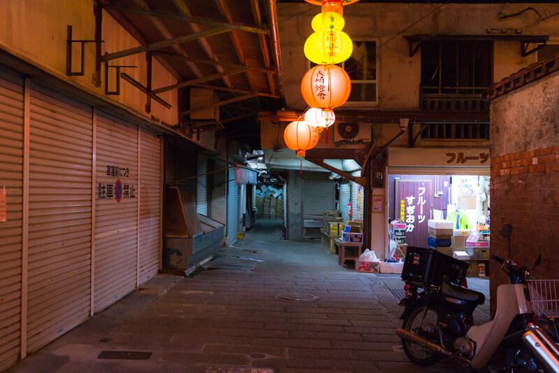 唐人屋敷跡の「路地」ランタンフェスティバル