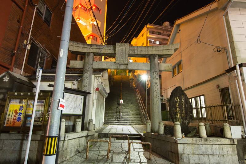 長崎7不思議の地から見るランタンフェスティバル