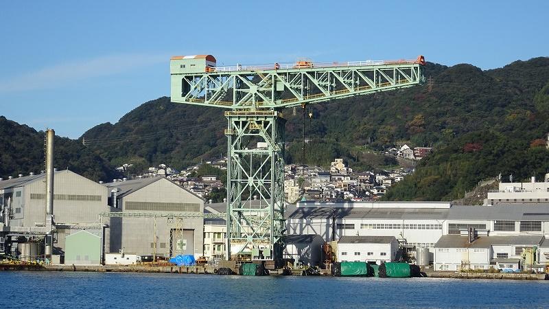 3万6500日以上働き続ける!長崎の世界遺産ジャイアント・カンチレバークレーンの物語