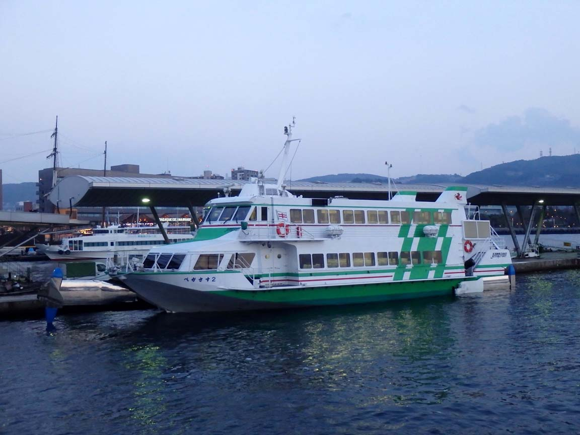 長崎 五島 ジェットフォイル