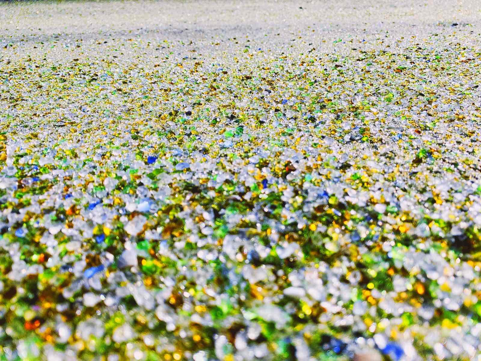 長崎空港すぐそばにキラキラ「シーグラス」の砂浜を発見!【大村市】