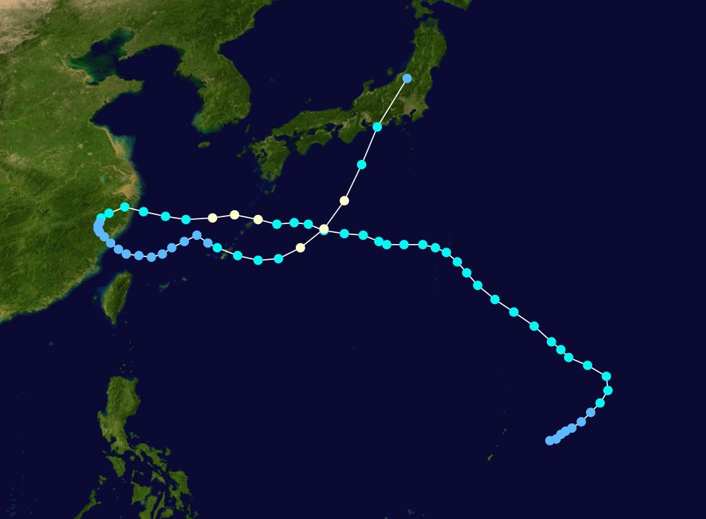 複雑な動きをする台風 | 災害にそなえる