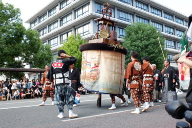 長崎くんち 傘鉾(出島町)