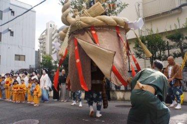 「傘鉾パレード」2019年10月7日(月)お下り