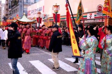 【長崎ランタンフェスティバル2020】皇帝パレード出演者決定|皇帝と皇后とルート案内