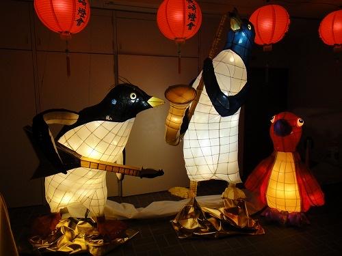 長崎ペンギン水族館「ペンギンと海のランタン展」
