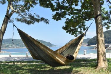 理想のロケーション。海水浴とビーチキャンプが楽しめる【長崎結の浜マリンパーク】
